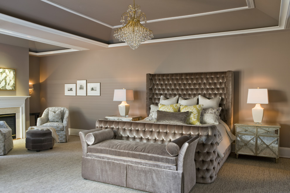 Diy-bedroom-chandelier-bedroom-contemporary-with-beige-table-lamp-bedroom-sitting-area-tufted-sleigh-bed-8